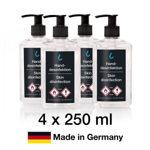Händedesinfektion, Made in Germany